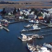 Smith Island, Village of Tylerton Aerial Views